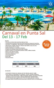 CARNAVAL PERU