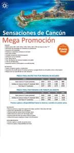 Cancun mega  promoción