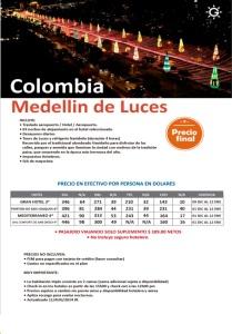 Medellin de luces $ 210 precio final