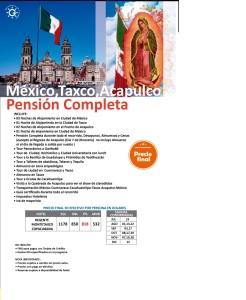 Mexico - Taxco - Acapulco Pensión completa