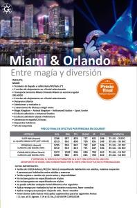 Miami y Orlando 6 noches