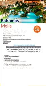Nueva Promoción a Bahamas