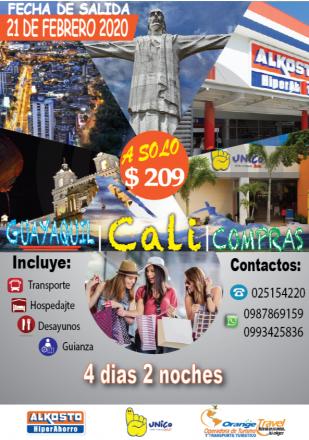 TOUR A CALI COLOMBIA
