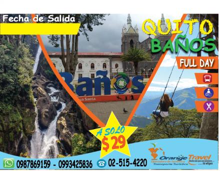 QUITO-BAÑOS 2020