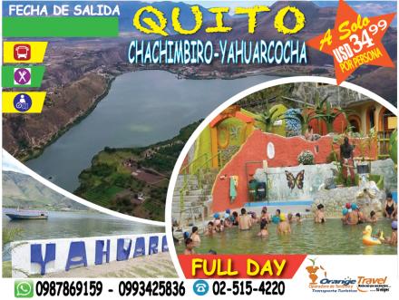 TOUR QUITO-BALNEARIO CHACHIMBIRO
